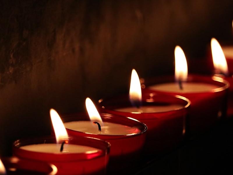 Ceri votivi e candele profumate