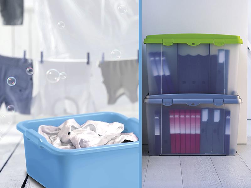 Plastica pattumiere e contenitori