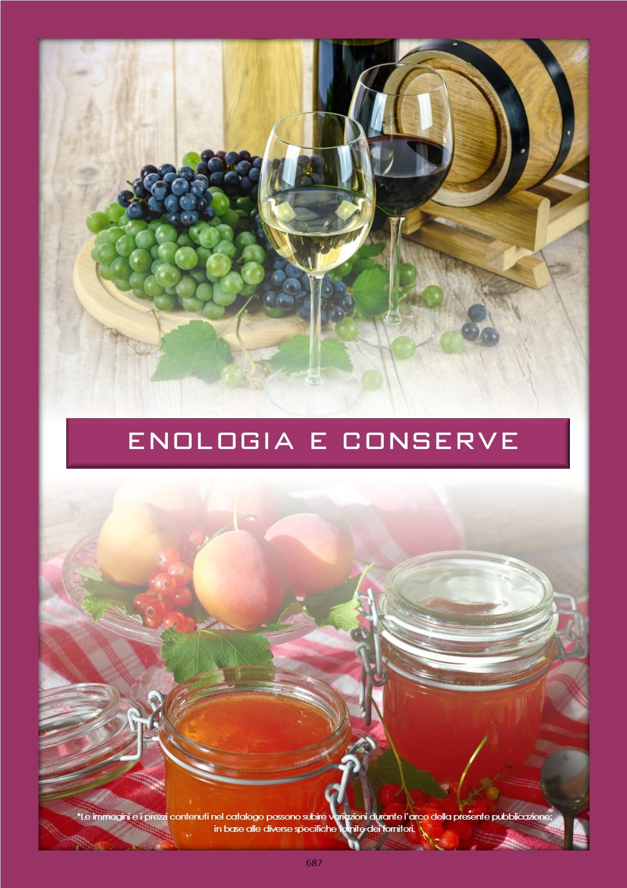 Enologia e conserve